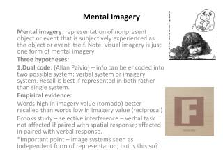 Mental Imagery