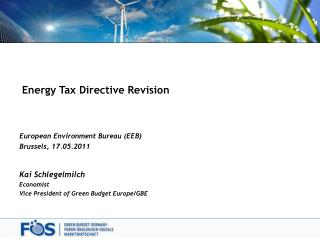 Energy Tax Directive Revision