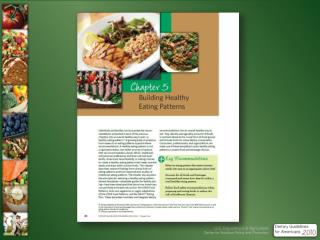 Chapter 5  new Building Healthy Eating Patterns