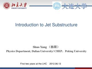 Introduction to Jet Substructure