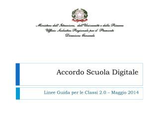 Accordo Scuola Digitale