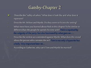 Gatsby-Chapter 2