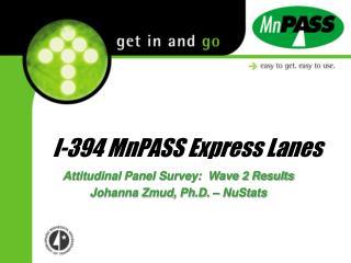I-394 MnPASS Express Lanes