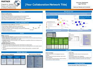 [Your Collaboration/Network Title]