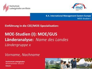 Hochschule Ludwigshafen Wintersemester  2012/13 Datum: