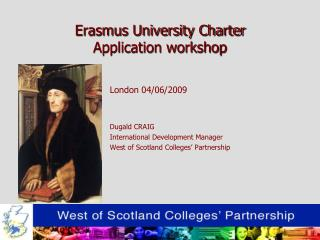 Erasmus University Charter Application workshop