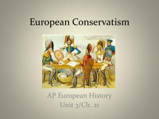 European Conservatism