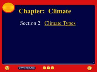 Chapter:  Climate