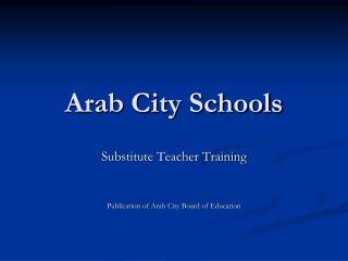 Arab City Schools