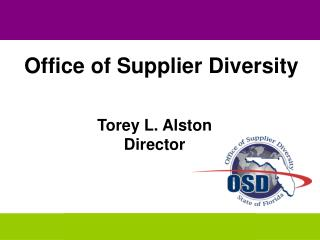 Torey L. Alston Director