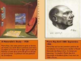 Pierre Roy  Avril  1880-  Septembre  1950  -