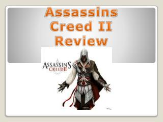 Assassins  Creed II Review