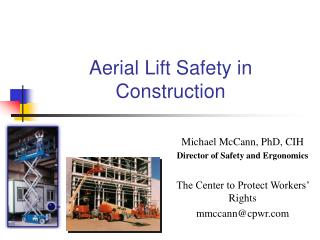 Aerial Lift Safety in Construction
