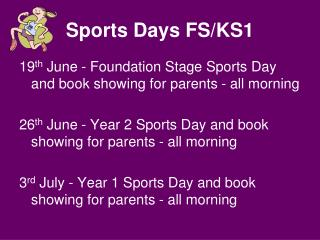Sports Days FS/KS1
