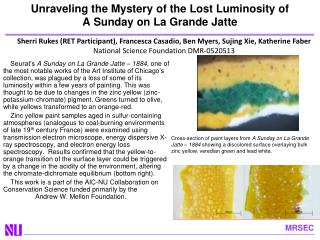Unraveling the Mystery of the Lost Luminosity of  A Sunday on La Grande  Jatte