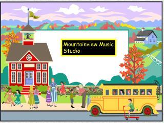 Mountainview Music Studio