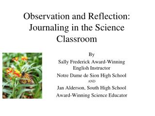 observation and reflection