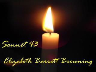 Sonnet 43 Elizabeth Barrett Browning