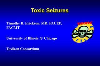 Toxic Seizures