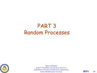PART 3 Random Processes