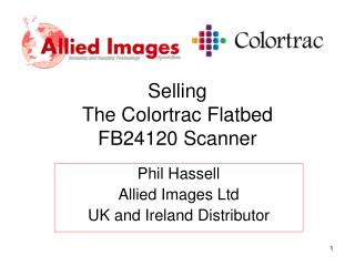 Selling  The Colortrac Flatbed FB24120 Scanner