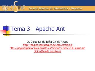 Tema 3 - Apache Ant