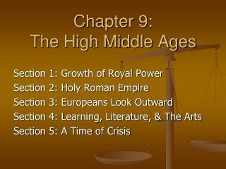 Chapter 9:  The High Middle Ages