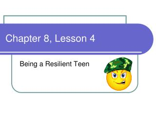 Chapter 8, Lesson 4