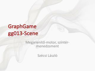 GraphGame gg0 1 3- Scene