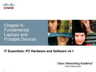 Chapter 6: Fundamental Laptops and Portable Devices