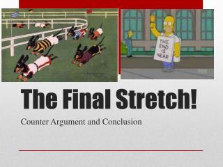 The Final Stretch!