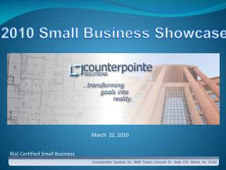 2010 Small Business Showcase