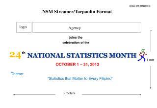 OCTOBER 1 – 31, 2013