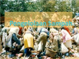 Pengelolaan Sampah