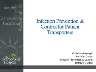 Infection Prevention & Control for Patient Transporters