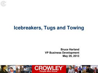 Icebreakers, Tugs and Towing