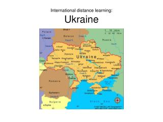 International distance learning: Ukraine