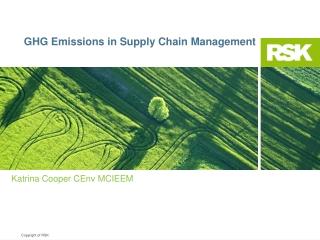 Managing Environmental Issues