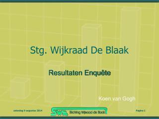 Stg. Wijkraad De Blaak