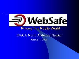 Privacy in a Public World