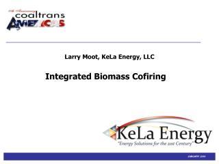Integrated Biomass Cofiring