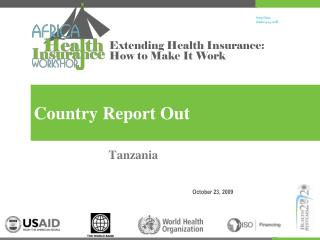 Country Report Out
