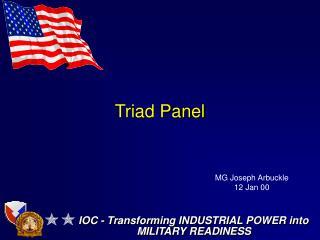 Triad Panel