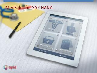 MedSales  for SAP HANA