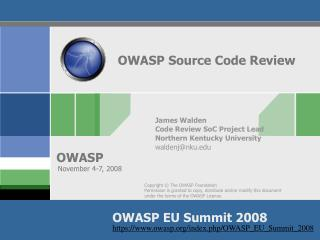 OWASP Source Code Review