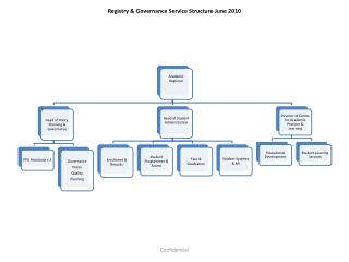 Registry & Governance Service Structure June 2010