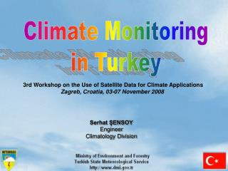 Climate Monitoring in Turkey