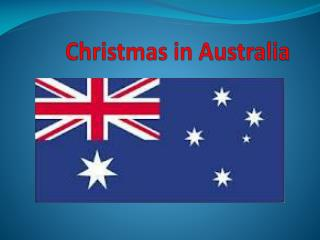 Christmas  in  A ustralia