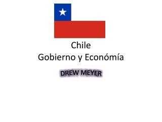 Chile  Gobierno  y  Económía