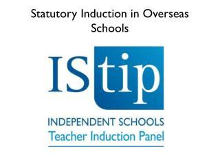 Statutory Induction in Overseas Schools